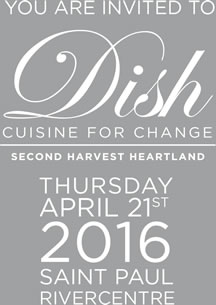 Dish: Cuisine for Change - Save the Date